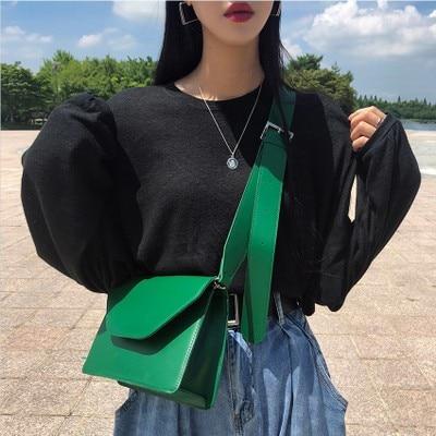 купить Luxury Women Shoulder Bag Casual Designer Handbags Brand Female Simple PU Leather Messenger Bags Satchel Ladies Elegant Ladies онлайн