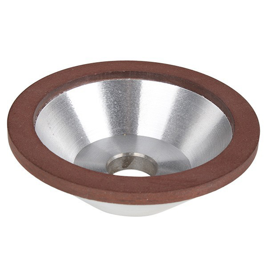 150 mm-es, 125 mm-es, 100 mm-es gyémánt csiszolókorong-kupa, 180 - Csiszolószerszámok - Fénykép 2
