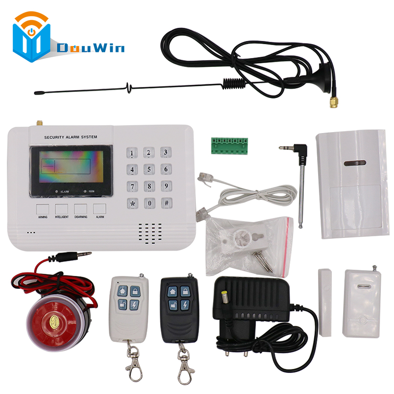Security GSM Alarm System GSM Alarm System Home security Alarm systems LCD Keyboard with Sensor alarm remoter for security house quad band gsm home security alarm systems with lcd keyboard wireless gsm alarm system remote control alarm security system