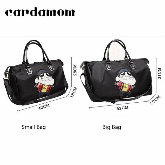 2018 High Quality Oxford Women Tote Bags Shoulder Bags large Solid Big Handbag Large Capacity Cartoon Printing Bags For Women