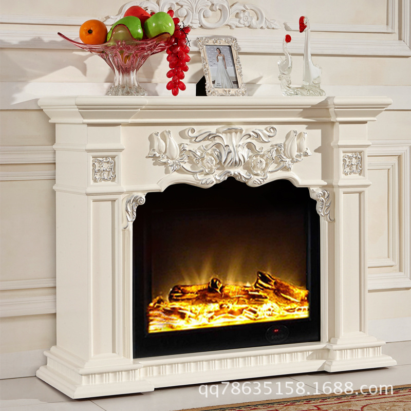 Electric fireplace artical solid wood fireplace ark - Madera para chimenea ...