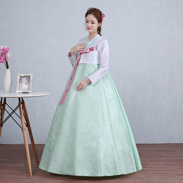 Online Shop korean traditional dress hanbok korean national costume ...