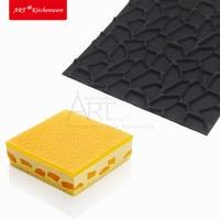 New DIY Silicone Impression Mat Cake Mousse Mat Crack Texture Mousse Mold Cake Decoration Cake Mold