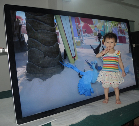 24-98inch HD Lcd Tft Cctv Monitor Display 42 47 55 65 70 98inch  Digital Signage Advertising Kiosk Ad Player Wall Mounted