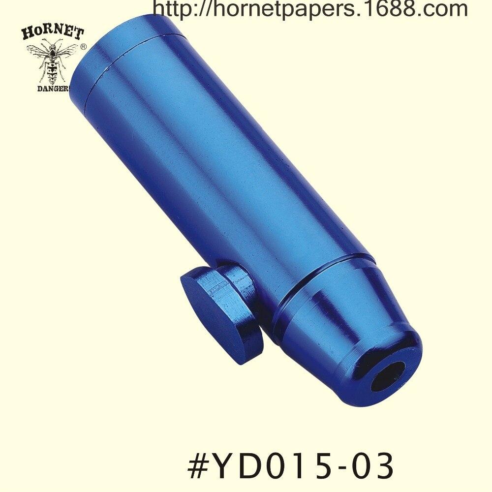 Metal bullet snuff rocket snorter sniff pipe