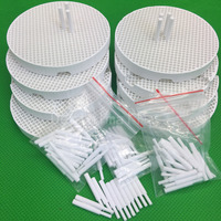 8pcs Dental Lab Honeycomb Firing Trays with 80 Zirconia Pins lowest price