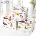 Automatic Cosmetic Travel Case Travel Jewelry Case Background Sceneryl Cosmetic Case Bracelet Boxes Cosmetics For Girls N-016