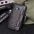 Case para htc one m7 m8 m9 case capa à prova de choque de luxo coldre silicone hard case para htc one m7 m8 m9 telefone celular shell cobrir
