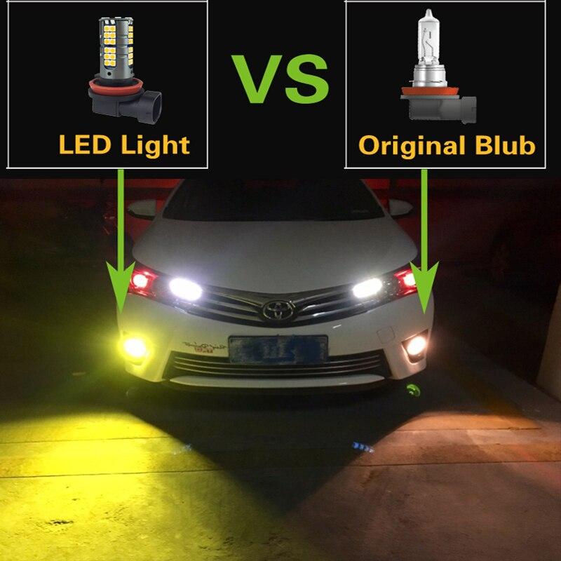 9005 h16 psx24w led carro luzes de 03