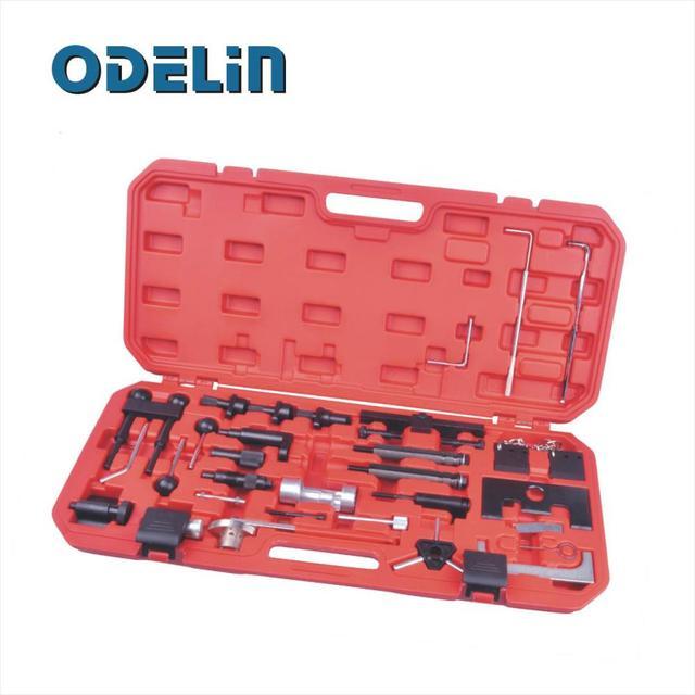 Engine Belt Adjust Locking Timing Tool Kit For Audi VW VAG Petrol Diesel Set 97-08
