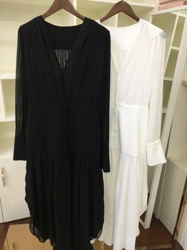 Distributeur Femelle 4 cou Show as Robe Couleur Nouveau As Solide De Plein Show 2019 V 3 Printemps Femmes Irrégulière Nourriture 8nwqFTPd