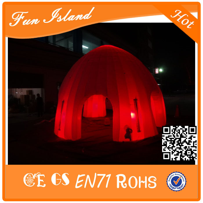Free Shipping Hot Sale Cheap Inflatable Dome Tent,Inflatable LED Tents,Party/Evening  Tents