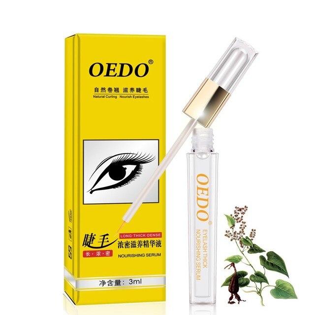 Rizador Natural nutrir pestañas crecimiento ojos suero pestañas potenciador más largo más grueso pestañas y cejas potenciador