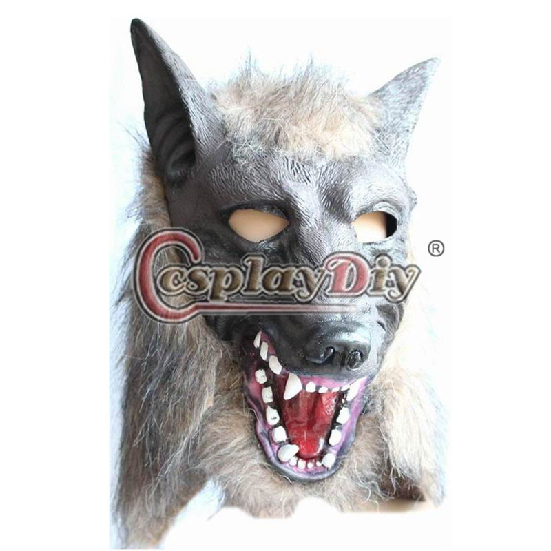 wolf mask adult kids devil dance mask full face masquerade halloween mask cosplay prop d0623 - Wolf Halloween Costume Kids