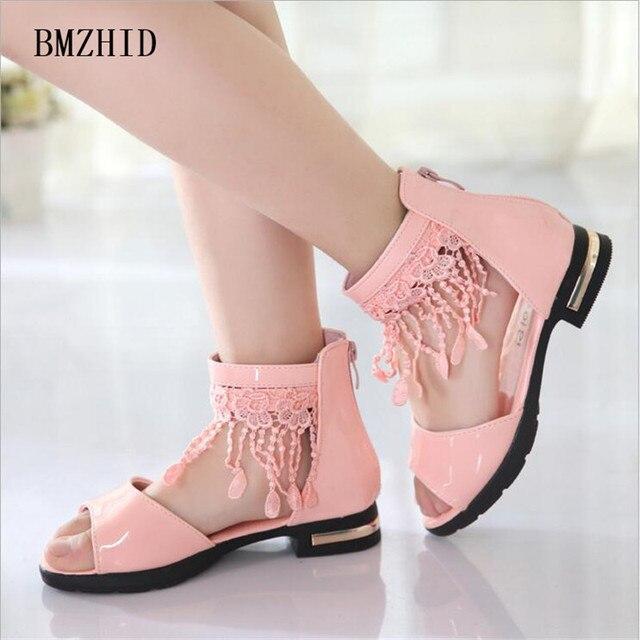 Chaussures Sandales Filles Princesse Chaussures d'été pour enfants NdpFWfM3Mo