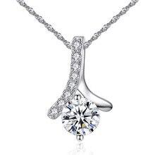 10 шт./лот) AAA CZ подвеска ожерелья Блестящий Цирконий ожерелье