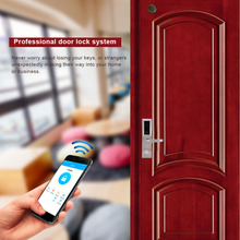 1Set Digital Door Lock Electronic Bluetooth Smart Door Locks Smartcode Keyless Touch Password Lock For Home Hotel Locker zinc alloy smart door lock home waterproof intelligent keyless digital electronic password keypad number cabinet door code locks