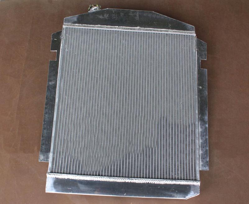 56mm aluminum radiator for CHEVY PICKUP TRUCK W SBC //BBC V8  L6 1938 1939 1940