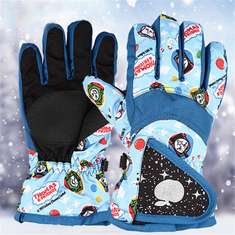 Workout Fitness Kids Tactical Gloves 2018 Winter Cotton Knitted Heated Gloves For Child  ...
