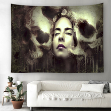 Abstract style tapestry India mandala wall hanging Tapestries colorful printing beach towel blanket table cloth picnic Tapestry