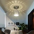 Современные минималистичные светодиодные круглые кованые лестные потолочные светильники полые светильники лестница балкон гостиная спал...