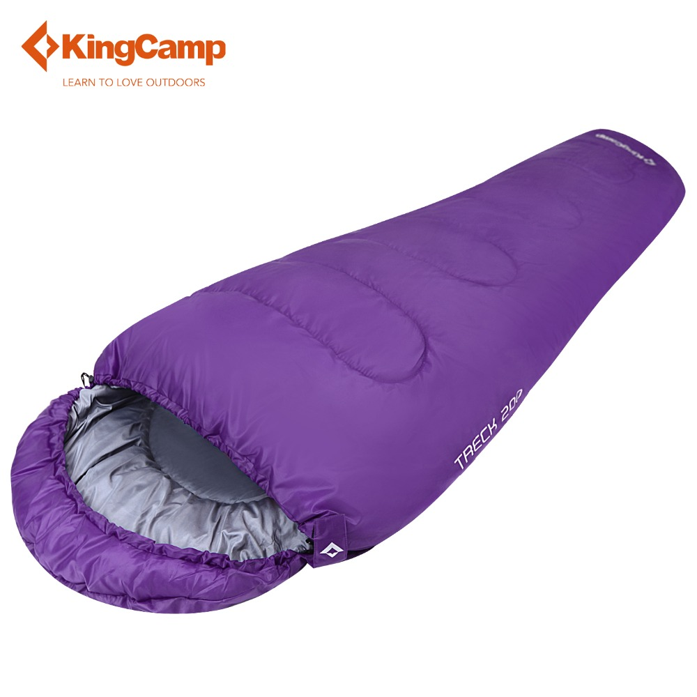KingCamp All Season Lazy Bag 215*80cm Treck 200 Mummy Sleeping Bag for Camping Backpacking Camping Bag пена монтажная mastertex all season 750 pro всесезонная