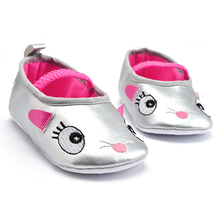 Baby Tassel Cartoon PU Shoes Infant Boy Girl Anti-slip First Walker Toddler Soft Sole Prewalker