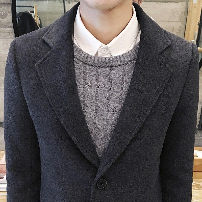Sobretudo Mode Standard Singel Bröstad Knäpp Regular Officiell Top - Herrkläder - Foto 5