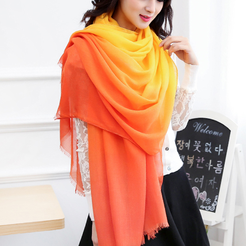 2019 New hot Winter   scarves   &   Wraps   for women Cotton shawls   Scarf   Print echarpe Foulard Femme Women scarfs shawl