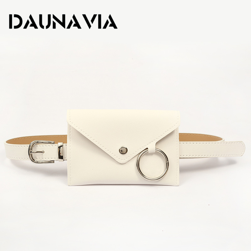 DAUNAVIA Fashion Ladies Waist Bag Female Belt Phone Pouch Bags Brand Designer Women Envelope Bags For Women Girls Fanny Pack