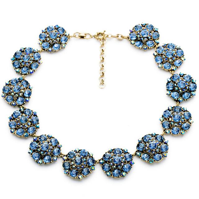 2014 luxuoso colar colar declaração choker colar ol moda vestido jóias para mulheres