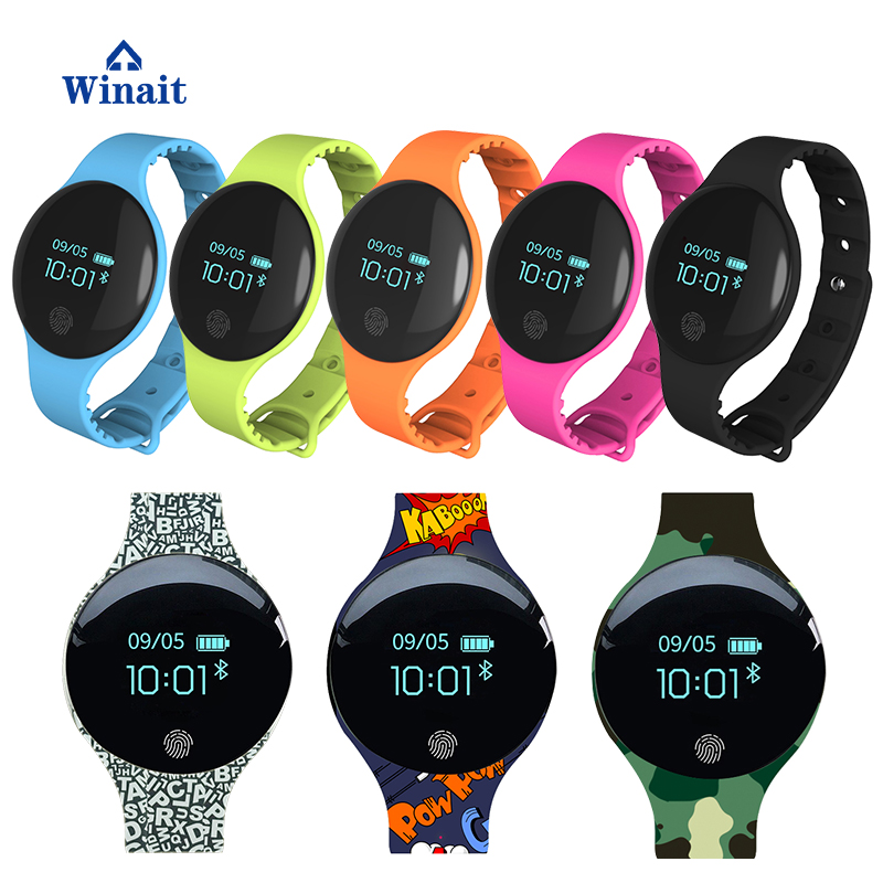 Winait TLW08 Sports Bracelet Strap Removable Smartwatch Professional Waterproof Round Gps Watch for Android 4.4 IOS 8.0 Above ...