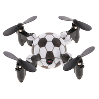 DH 880 0.3MP Camera Wifi FPV Foldable Mini Drone Football Shape Watch Controller Altitude Hold RC Drone Quadcopter