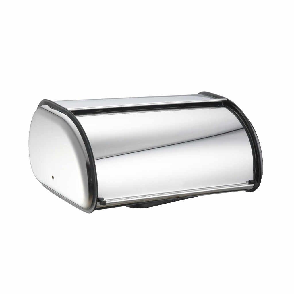 Luraka aço inoxidável caixa de pão armazenamento bin, cozinha bolo recipiente alimentos, titular pão dropshipping 19mar27 caixa pão
