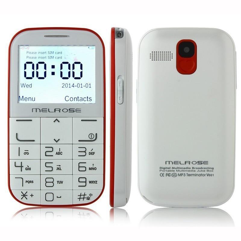 melrose i310 2 3 inch wireless charging mini mobile cell. Black Bedroom Furniture Sets. Home Design Ideas