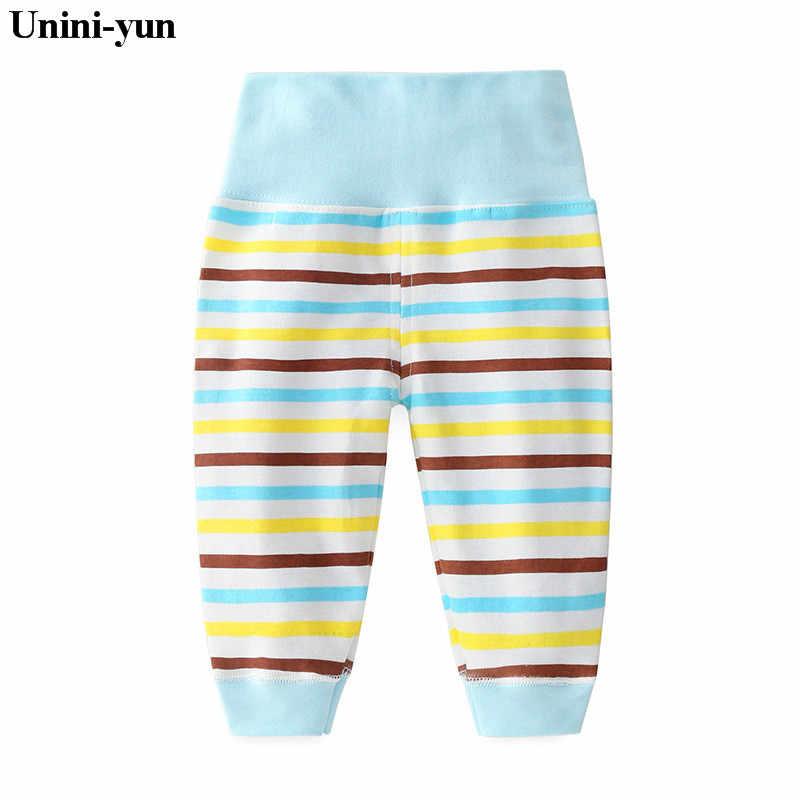 2018 ropa de niños adorables para niñas, Legging a rayas, pantalones largos azules para niñas, pantalones casuales para bebés
