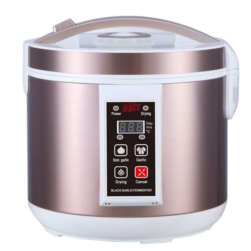 5L Black Garlic Fermenter Full Automatic Intelligent Control Garlics Maker Smart Multiple Clove Garlic DIY Cooker 110V / 220V