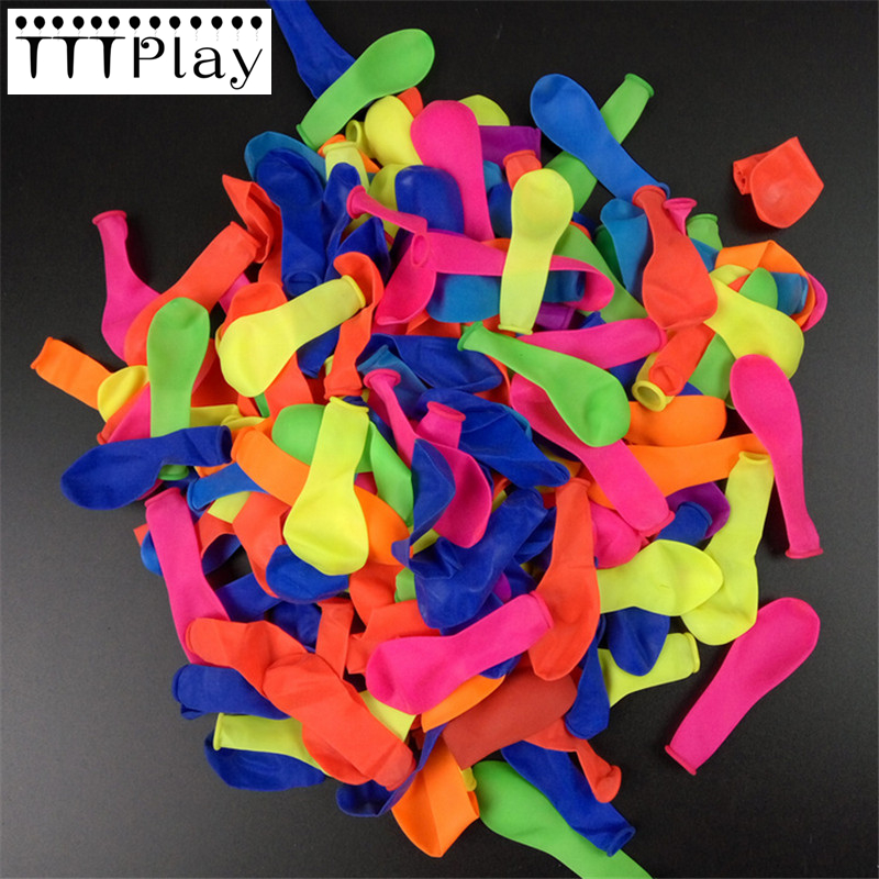 100PCS High Quality Water Balloons Bombs Multi Colour Kids Summer Party Fun Toys