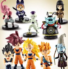 Hot Dragon Ball Z Action Figure Toy Goku Buu Vegeta Frieza Super Saiyan Deus Hercule Beerus Whis Anime Dbz Modelo boneca de Brinquedo Do Menino Do Miúdo(China)