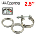 "WLR STORE-  New type 2.5""  VBand clamp flange Kit (Stainless Steel 201) For turbo exhaust downpipe"