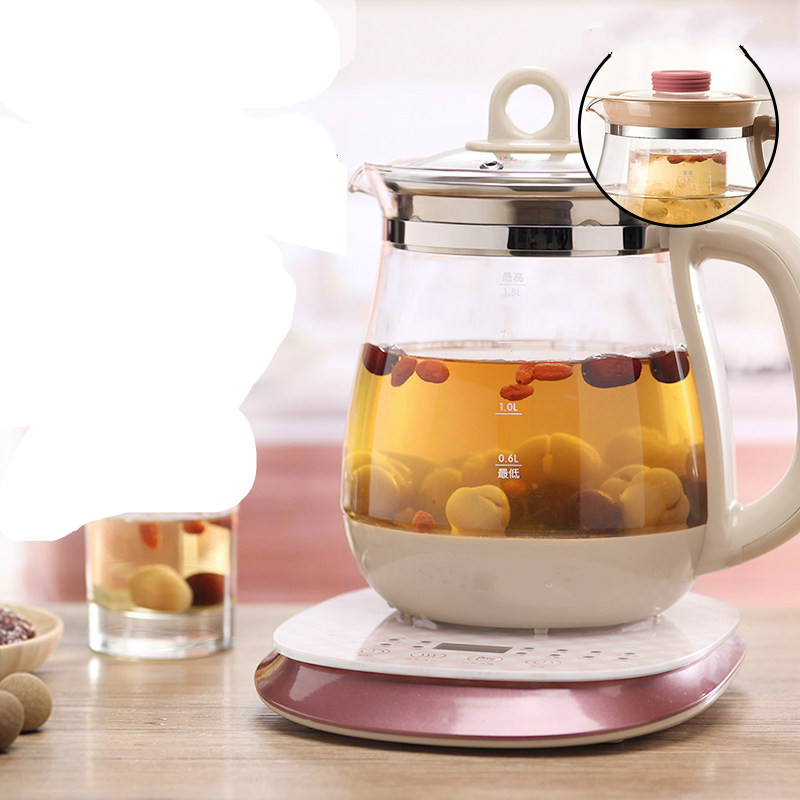 все цены на thermos pot automatic thickening glass electric kettle used make tea ware Anti-dry Protection