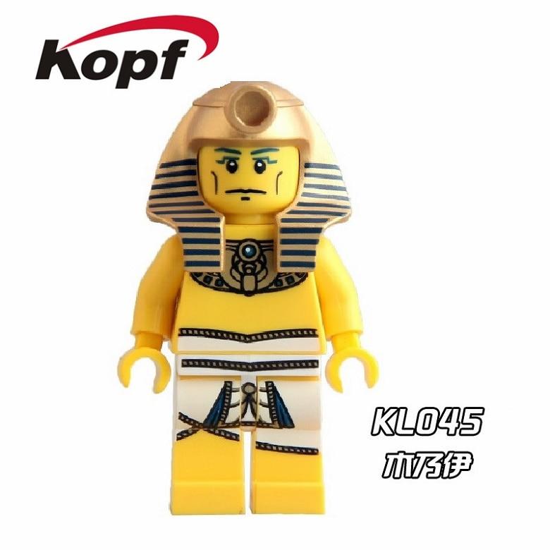 20Pcs KL045 Super Heroes Series Pharaohs Quest Mummy Egyptian Viking Warrior Bricks Action Building Blocks Children Gift Toys