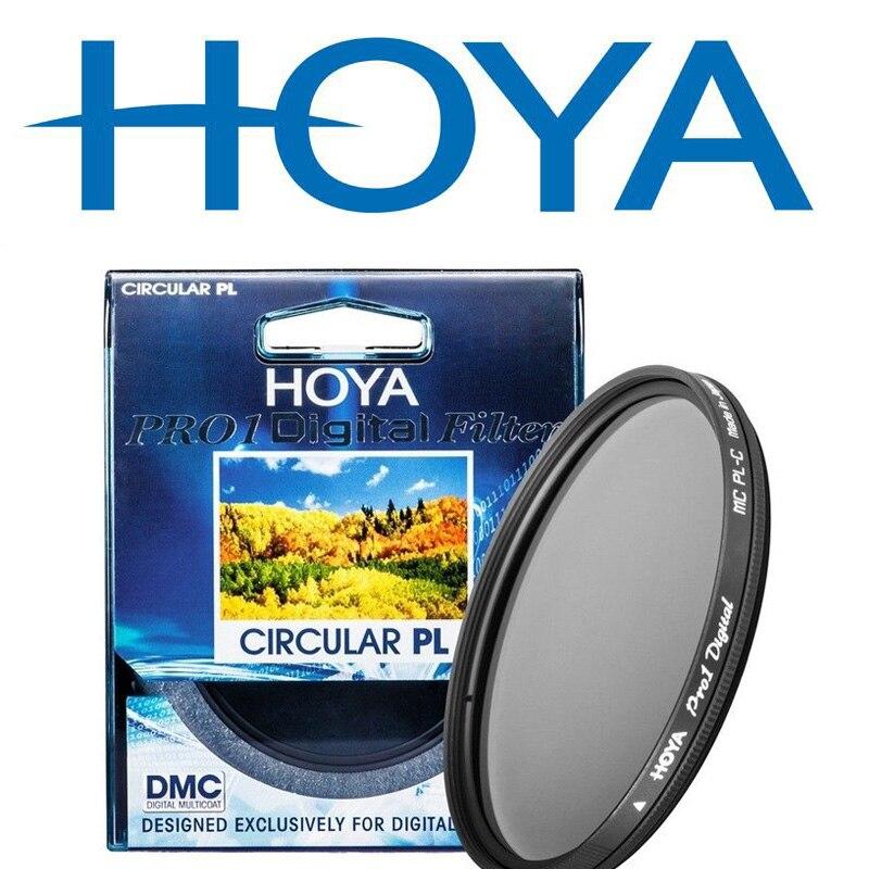 58 PRO1 Digital Camera Lens Filtro CPL Filtro HOYA FINO mm 67mm 72mm 77mm 82mm 46mm 49mm 52mm 55 milímetros Filtro de Polarização Circular