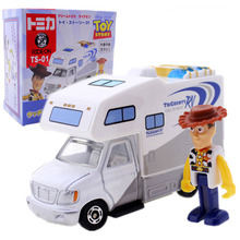 2019 New Toy Story 4 Talking Jessie Woody Doll Car Ts-01 Action Figures Model Toys Children Birthday Gift Collectible Doll disney pixar toy story 15 inch talking woody jessie pvc cartoon action figure collectible model toy doll for kids gift with box