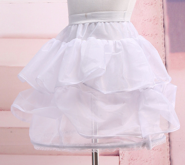 New Short Children Petticoat Two Styles Fashion Princess Wedding Petticoat Puffy Soft Tulle Custom Children Petticoat Cheap