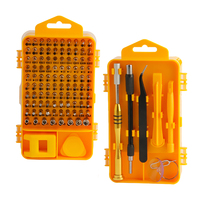 108 Pcs Precision Screwdriver Set CR V Magnetic Bits Mobile Phone Laptop Repair Tool Set Multitool