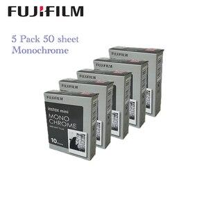 Image 2 - 5 packs Fujifilm Instax Mini Film Monochrome For Mini 8 7s 7 10 20 30 50s 50i 90 25 dw Share SP 1 Instant Paper Photo