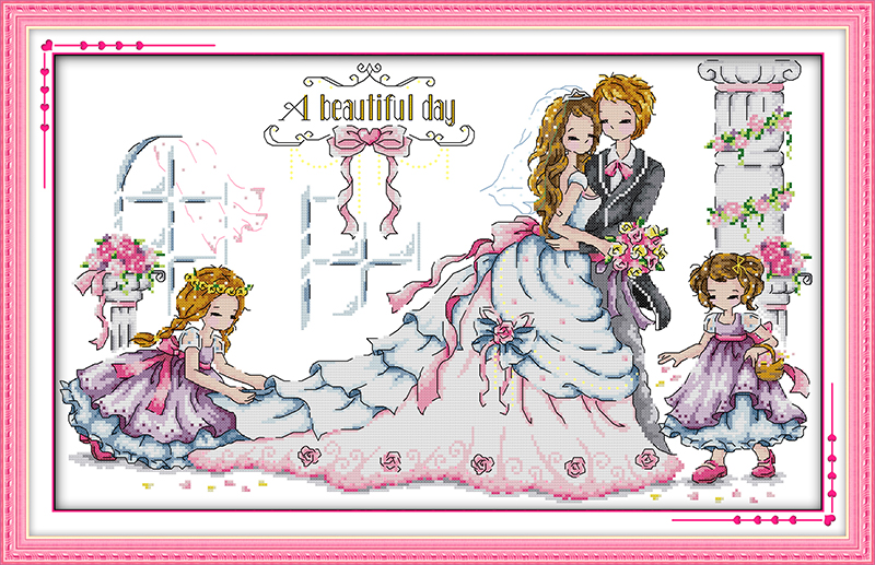 Online Buy Wholesale cross stitch patterns for weddings from China ...