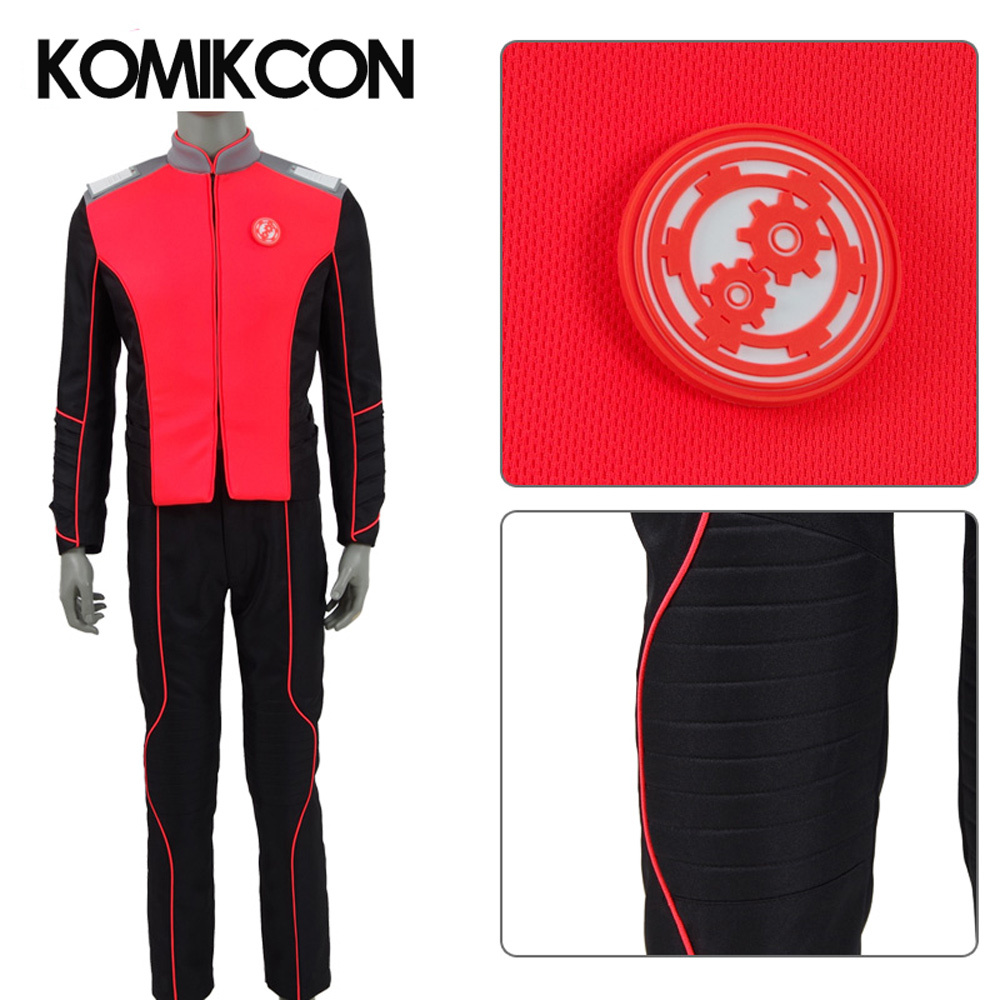 The Orville Engineering Department Uniform Cosplay Starfleet Costume Duty Outfit Halloween Christmas Costumes