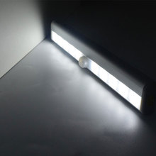 Motion Sensor Detector LED Night Light Battery Operated Wireless Closet Cabinet Lights Kitchen Drawer Nightlight Lamp